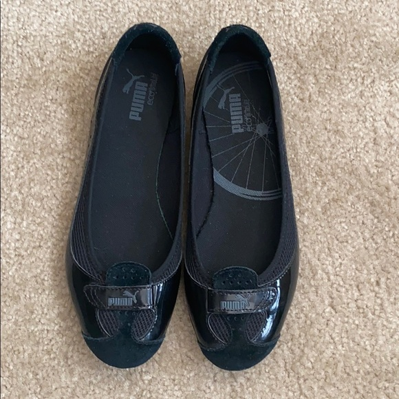 Puma Eco-Ortholite black shoes